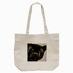 Panther Tote Bag (cream) by ArtByThree