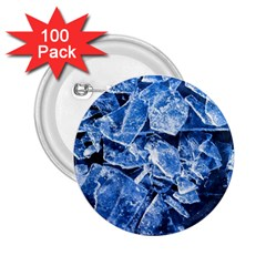 Cold Ice 2 25  Buttons (100 Pack)