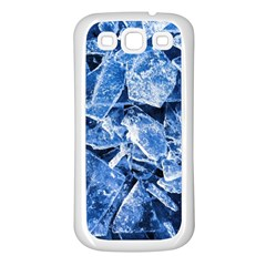 Cold Ice Samsung Galaxy S3 Back Case (white)