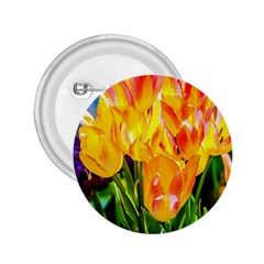 Festival Of Tulip Flowers 2 25  Buttons by FunnyCow