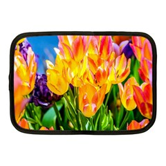 Festival Of Tulip Flowers Netbook Case (medium) by FunnyCow