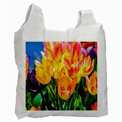 Festival Of Tulip Flowers Recycle Bag (two Side) by FunnyCow