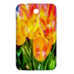 Festival Of Tulip Flowers Samsung Galaxy Tab 3 (7 ) P3200 Hardshell Case  by FunnyCow