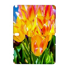 Festival Of Tulip Flowers Samsung Galaxy Note 10 1 (p600) Hardshell Case by FunnyCow