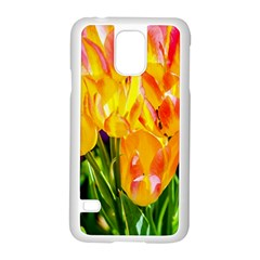 Festival Of Tulip Flowers Samsung Galaxy S5 Case (white) by FunnyCow