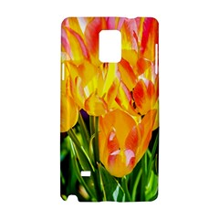 Festival Of Tulip Flowers Samsung Galaxy Note 4 Hardshell Case by FunnyCow