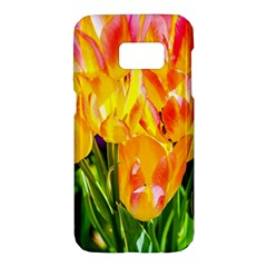 Festival Of Tulip Flowers Samsung Galaxy S7 Hardshell Case