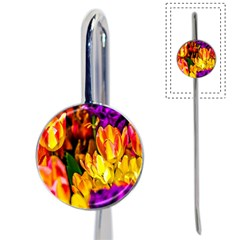 Fancy Tulip Flowers In Spring Book Mark by FunnyCow