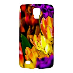 Fancy Tulip Flowers In Spring Samsung Galaxy S4 Active (i9295) Hardshell Case by FunnyCow