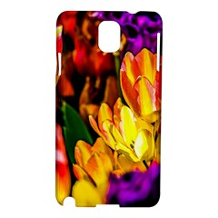Fancy Tulip Flowers In Spring Samsung Galaxy Note 3 N9005 Hardshell Case by FunnyCow