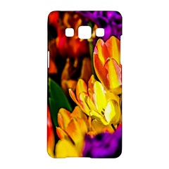 Fancy Tulip Flowers In Spring Samsung Galaxy A5 Hardshell Case  by FunnyCow