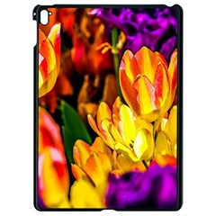 Fancy Tulip Flowers In Spring Apple Ipad Pro 9 7   Black Seamless Case by FunnyCow