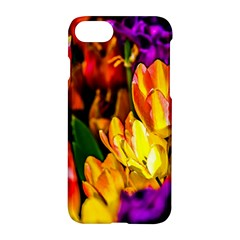 Fancy Tulip Flowers In Spring Apple Iphone 8 Hardshell Case by FunnyCow