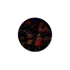 Floral Fireworks Golf Ball Marker (10 Pack) by FunnyCow