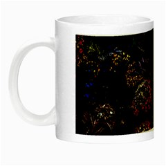 Floral Fireworks Night Luminous Mugs by FunnyCow