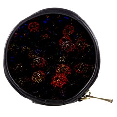 Floral Fireworks Mini Makeup Bag by FunnyCow