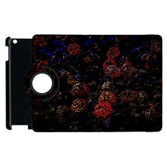 Floral Fireworks Apple Ipad 3/4 Flip 360 Case by FunnyCow