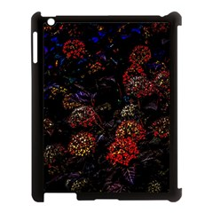 Floral Fireworks Apple Ipad 3/4 Case (black) by FunnyCow