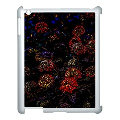 Floral Fireworks Apple Ipad 3/4 Case (white) by FunnyCow