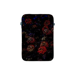 Floral Fireworks Apple Ipad Mini Protective Soft Cases by FunnyCow