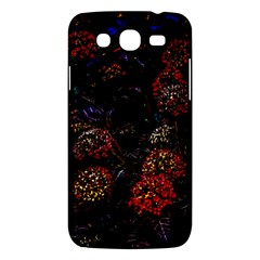Floral Fireworks Samsung Galaxy Mega 5 8 I9152 Hardshell Case  by FunnyCow