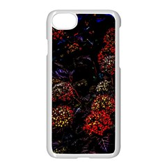 Floral Fireworks Apple Iphone 7 Seamless Case (white) by FunnyCow