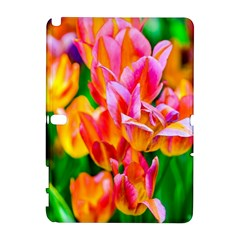 Blushing Tulip Flowers Samsung Galaxy Note 10 1 (p600) Hardshell Case