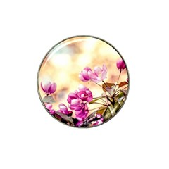 Paradise Apple Blossoms Hat Clip Ball Marker (10 Pack) by FunnyCow