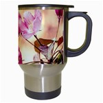 Paradise Apple Blossoms Travel Mugs (White) Right