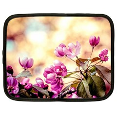 Paradise Apple Blossoms Netbook Case (large) by FunnyCow