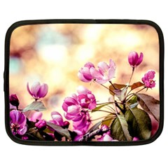 Paradise Apple Blossoms Netbook Case (xl) by FunnyCow