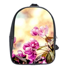 Paradise Apple Blossoms School Bag (large) by FunnyCow