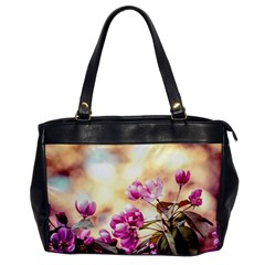 Paradise Apple Blossoms Oversize Office Handbag by FunnyCow