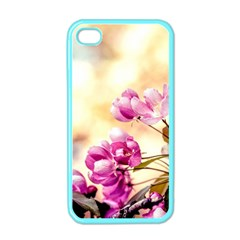 Paradise Apple Blossoms Apple Iphone 4 Case (color) by FunnyCow
