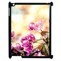 Paradise Apple Blossoms Apple Ipad 2 Case (black) by FunnyCow