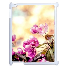 Paradise Apple Blossoms Apple Ipad 2 Case (white) by FunnyCow