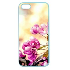 Paradise Apple Blossoms Apple Seamless Iphone 5 Case (color) by FunnyCow