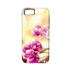 Paradise Apple Blossoms Apple Iphone 5 Classic Hardshell Case (pc+silicone) by FunnyCow