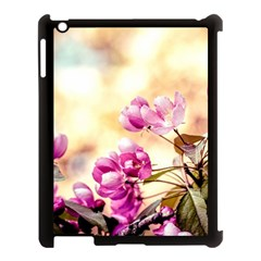 Paradise Apple Blossoms Apple Ipad 3/4 Case (black) by FunnyCow