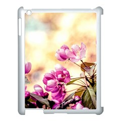 Paradise Apple Blossoms Apple Ipad 3/4 Case (white) by FunnyCow