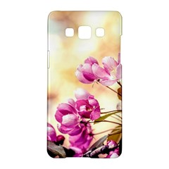 Paradise Apple Blossoms Samsung Galaxy A5 Hardshell Case  by FunnyCow