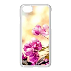 Paradise Apple Blossoms Apple Iphone 8 Seamless Case (white) by FunnyCow