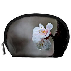 Rainy Day Of Hanami Season Accessory Pouch (large)