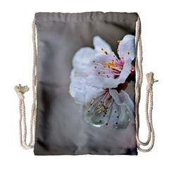 Rainy Day Of Hanami Season Drawstring Bag (large) by FunnyCow