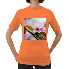 Soft Rains Of Spring Women s Dark T Shirt by FunnyCow