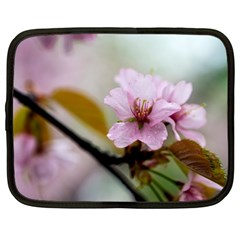 Soft Rains Of Spring Netbook Case (large) by FunnyCow