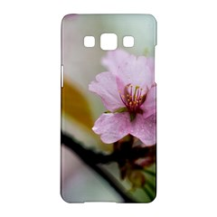Soft Rains Of Spring Samsung Galaxy A5 Hardshell Case
