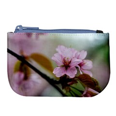 Soft Rains Of Spring Large Coin Purse