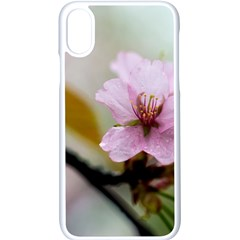 Soft Rains Of Spring Apple Iphone X Seamless Case (white) by FunnyCow