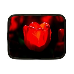 Red Tulip A Bowl Of Fire Netbook Case (small) by FunnyCow